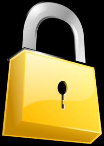 yellow lock-146536
